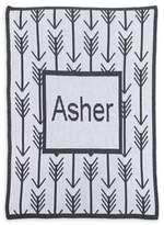 Butterscotch Blankees Arrows & Arrows Blanket in Off White/Charcoal
