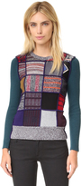 See by Chloe Patchwork Pullover