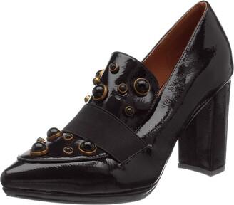 El Caballo The Horse Two Sisters Women's Heel Shoe Black Size: 6 UK