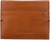 Ted Baker Bright Leather Card Holder Brown