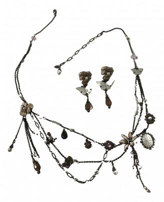 Les Nereides Pink Metal Jewellery sets