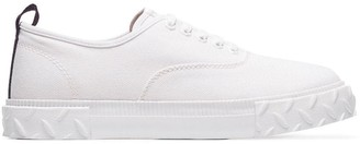 Eytys white Viper canvas low top sneakers