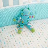 My Baby Sam Follow Your Arrow 4-Piece Crib Bumper Set in Aqua