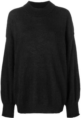 Fine Edge oversized turtleneck sweater