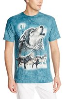 The Mountain Old School Wolf Collage T-Shirt