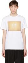A.P.C. White seventeen T-shirt