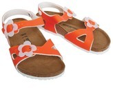 Birkenstock Girls Rio Birko-Flor Regular Fit Sandals Candy Orange