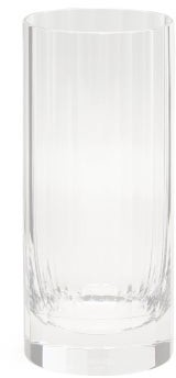 clear Richard Brendon - Fluted Highball Crystal Glass