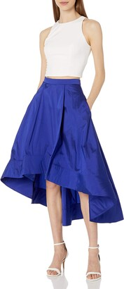 Aidan Mattox Aidan Women's Taffeta Two Piece Dress