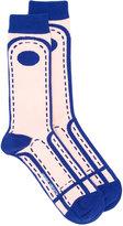 Henrik Vibskov Crossing Lane socks