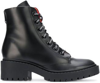 Kenzo lace up boots