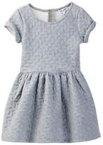 Splendid Athleisure Quilted Dress (Toddler Girls)