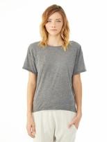 Alternative Pony Melange Burnout T-Shirt w/ Back Strap