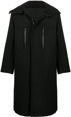 Y-3 Long-Sleeve Zip Coat