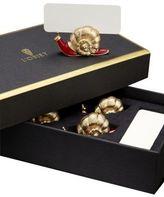 L'OBJET Gold Snail Place Card Holders/Set of 6