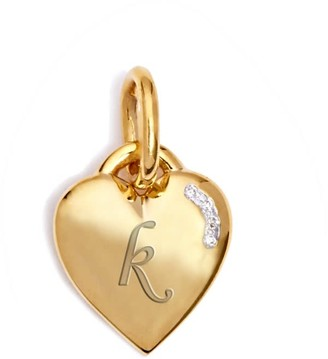 Kaizarin Tiny Heart Yellow Gold Pendant