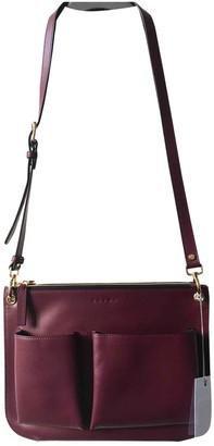 Marni Burgundy Leather Handbags