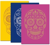 RH BOOK CLUB Day Of The Dead Set Of 3 Notebooks