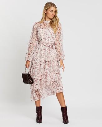 MinkPink Make Your Move Midi Dress