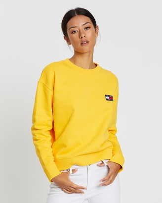 Tommy Jeans Tommy Badge Crew Sweater