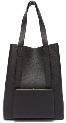 Lutz Morris Seveny Grained-leather Tote Bag - Black