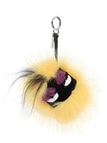 Fendi Fur Charm Bugs Bag