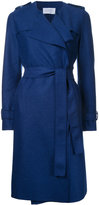 Harris Wharf London - long trench coat - women - Virgin Wool - 38