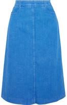 Stella McCartney Denim Skirt - Light blue