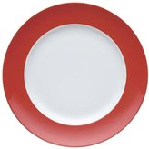 Thomas Laboratories Thomas' Sunny Day Breakfast Plate, Cake Plate, Porcelain, New Red, Dishwasher Safe, 22 cm, 10222