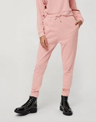 Miss Selfridge slim joggers in rose pink
