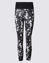 Marks and Spencer Winter Floral Leggings with Cool ComfortTM Technology