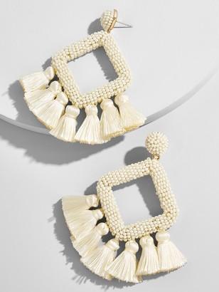 BaubleBar Laniyah Fringe Drop Earrings