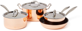 Triumph Copper Cookware series 7pc set Copper