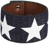 Givenchy Star Sleeve Denim Bracelet