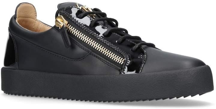 Giuseppe Zanotti Leather Signature Mix Sneakers
