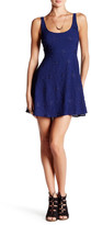 Honey Punch Embroidered Mini A-Line Dress