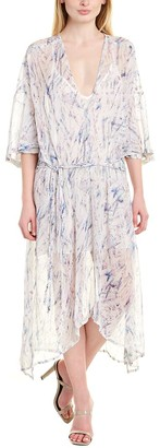 IRO Camasa Silk High-Low Dress