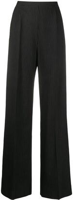 Gianfranco Ferré Pre-Owned 1990s Archive pinstripe wide-leg trousers