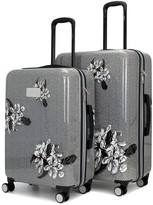 Badgley Mischka Essence 2-Piece Hard Spinner Luggage Set