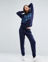 Juicy Couture Cozy Fleece Jogger