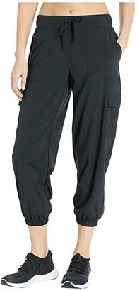 Skechers Trekker Jogger Crop Pants (Black) Women's Casual Pants