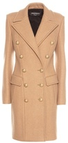Balmain Virgin Wool And Cashmere Coat