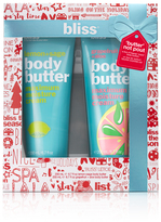 Bliss 'butter' Not Pout Body Butter Gift Set
