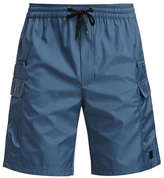 Madison Supply High-Shine Utility Track Shorts