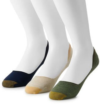 Gold Toe Big & Tall GOLDTOE 3-pack Extended Size Penny Liner Socks