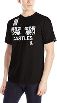 Crooks & Castles Men's Knit Crew T-Shirt - Zine