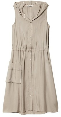 Tibi Anorak Midi Dress