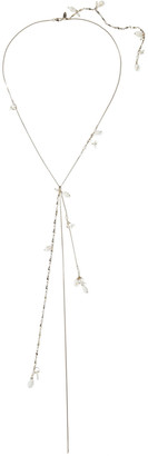 Zimmermann Gold-tone, Stone, Faux Pearl And Faux Shell Necklace