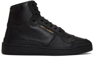 Saint Laurent Black SL24 Sneakers