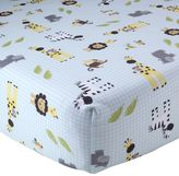 Lambs & Ivy Lambs and Ivy Peek A Boo Jungle Crib Sheet